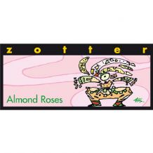 Zotter Almond Roses Chocolate Bar 50% 70g